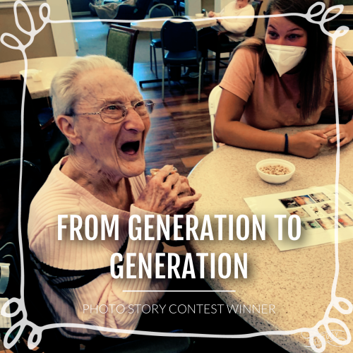 …from generation to generation